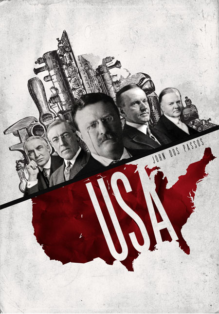 Image result for U.S.A. -John Dos Passos
